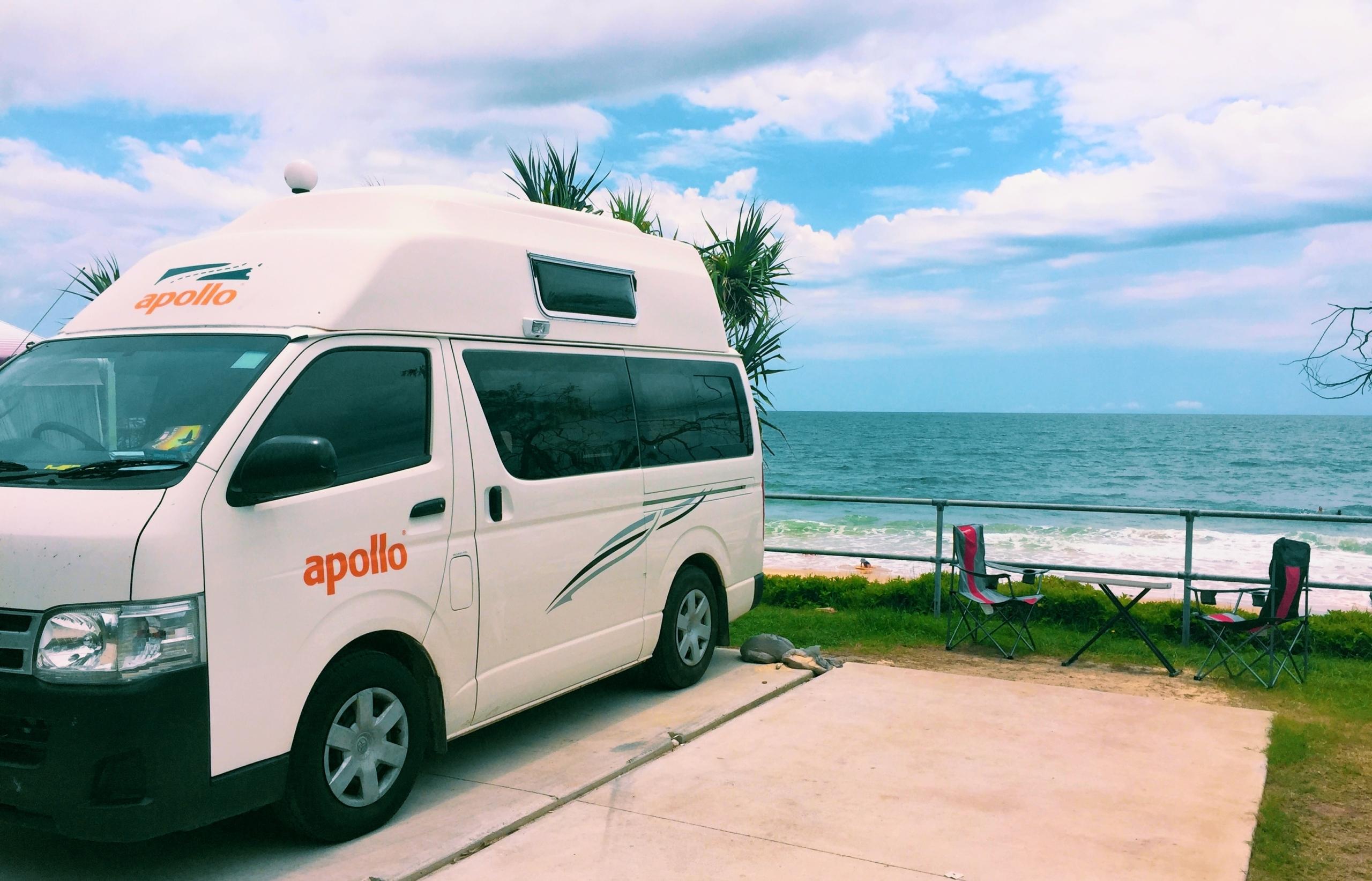 Australien Camper Hi Top Strand