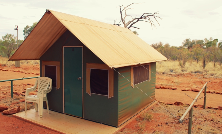 Australien Kings Canyon Safari Cabin