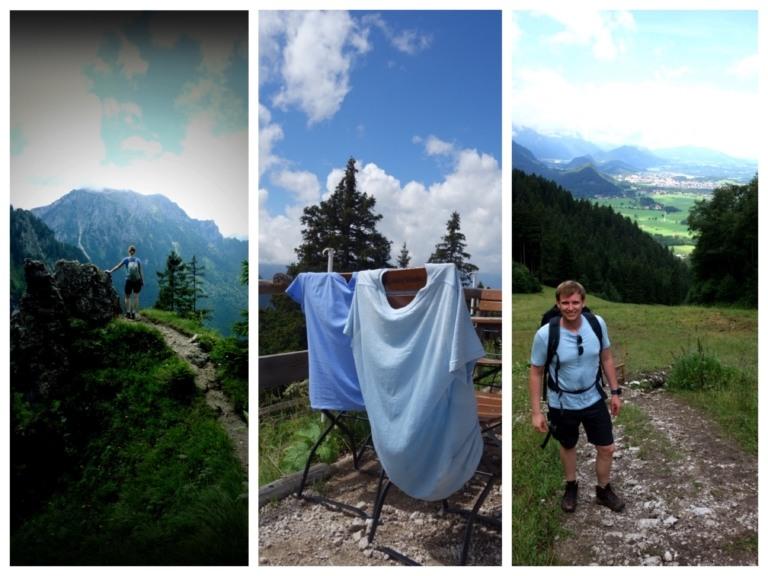 Tegelberg_Wanderung_Collage