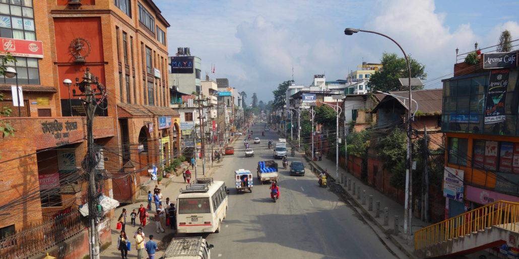 Nepal Kathmandu Straße