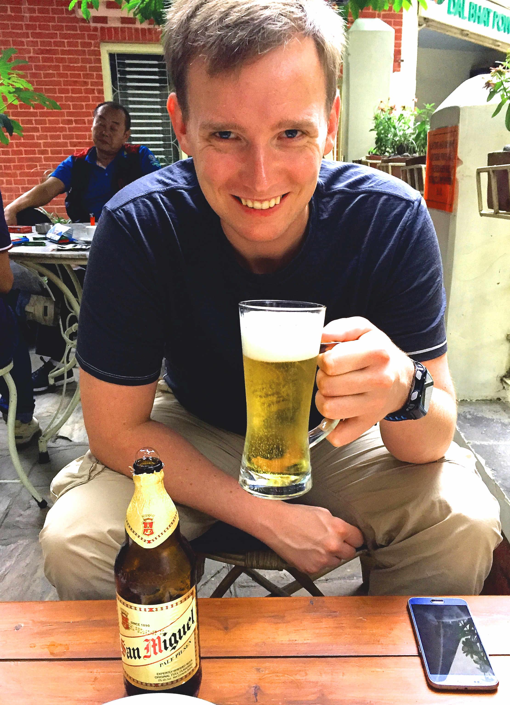 Nepal Kathmandu Bier Matthias