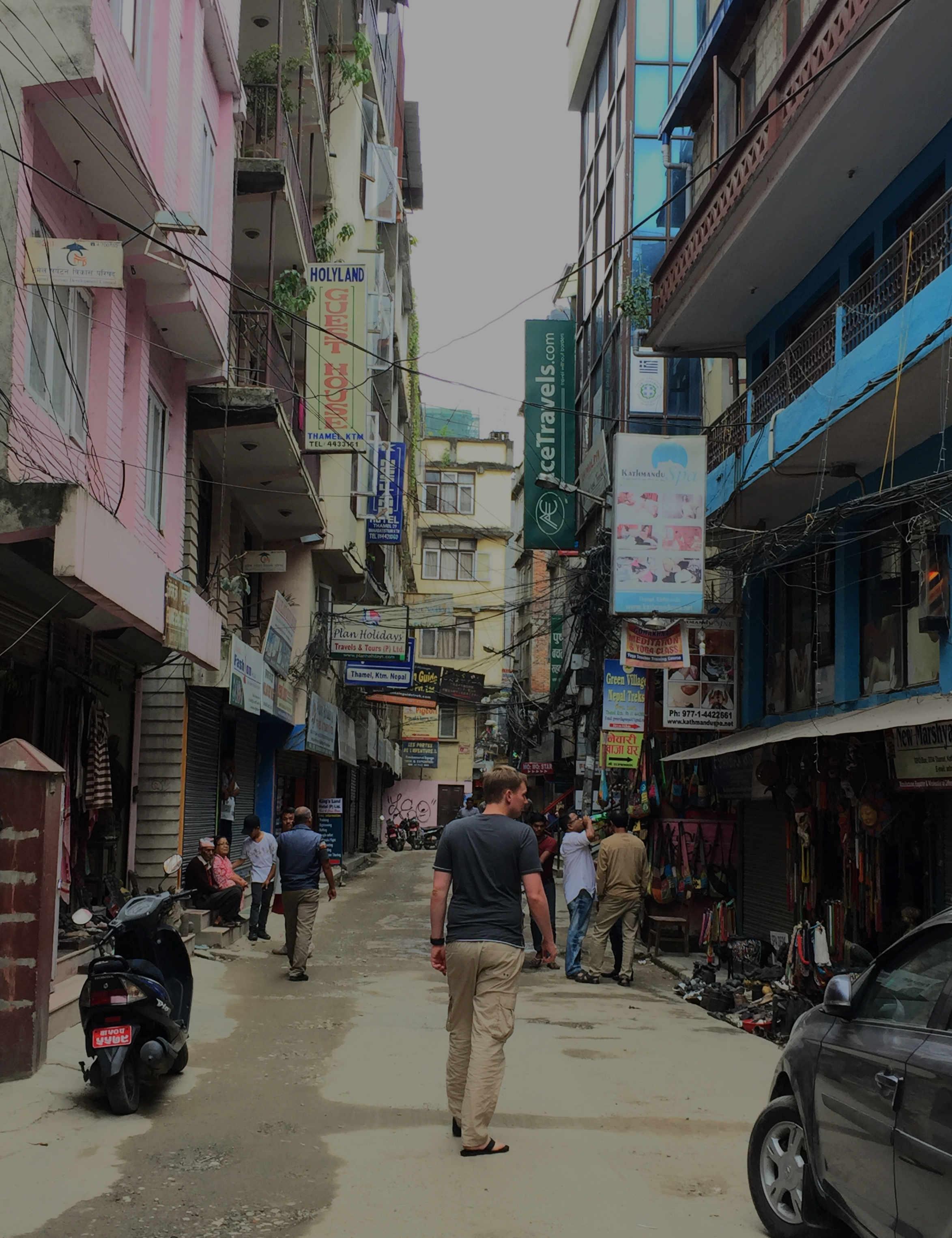 Nepal Kathmandu Thamel Matthias