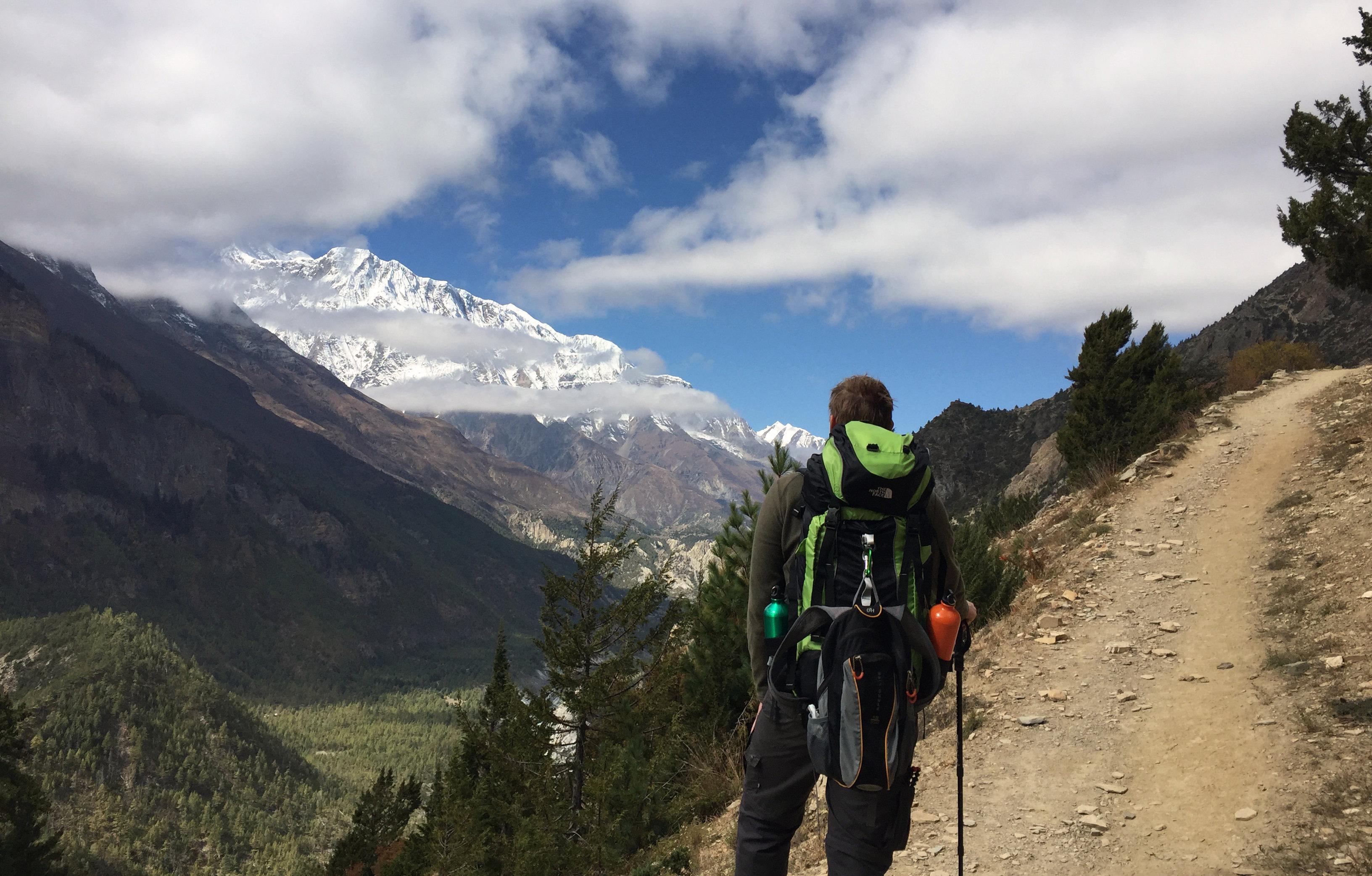 Nepal Annapurna Circuit Berg Ghyaru