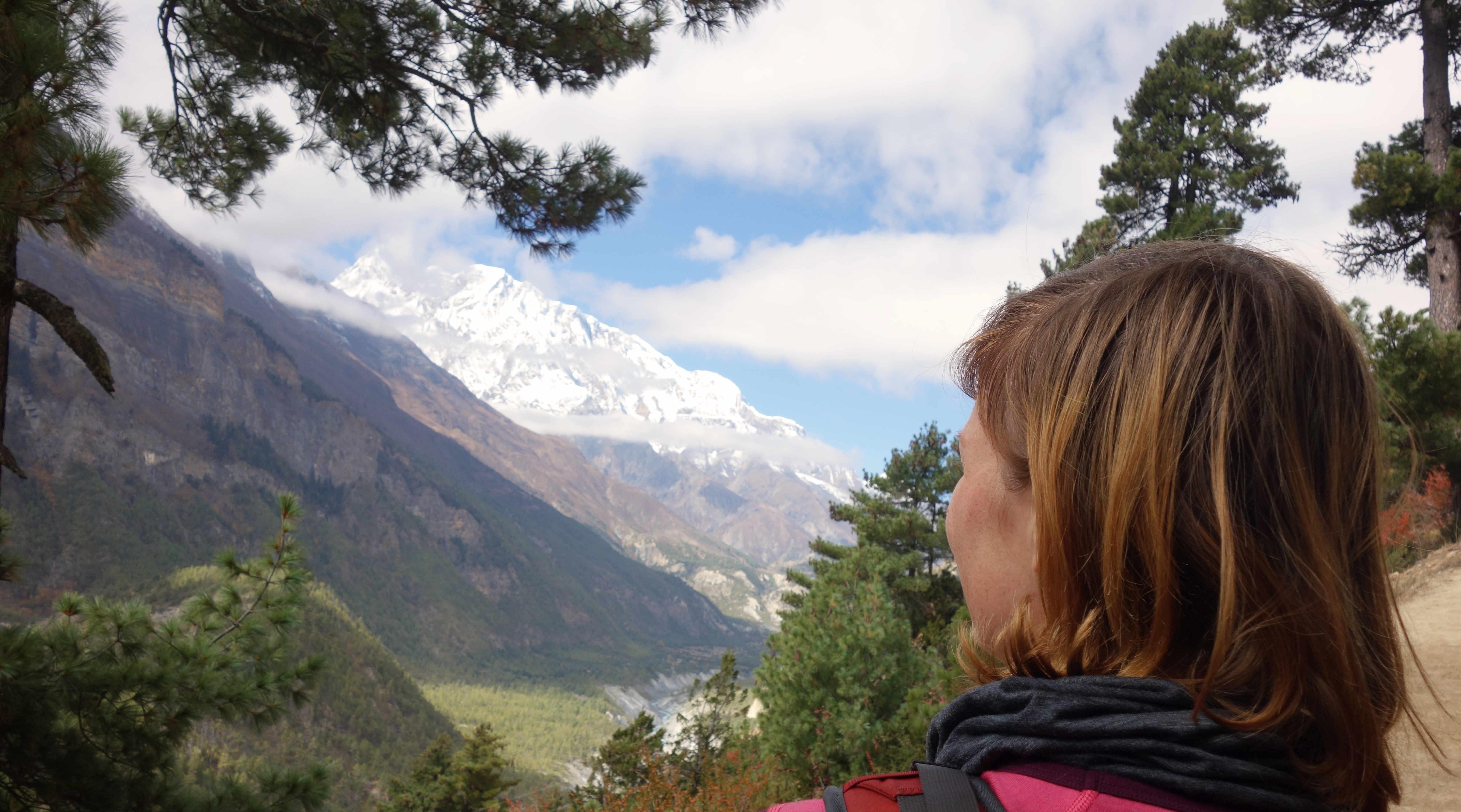 Nepal Annapurna Circuit Berg Ghyaru Franzi