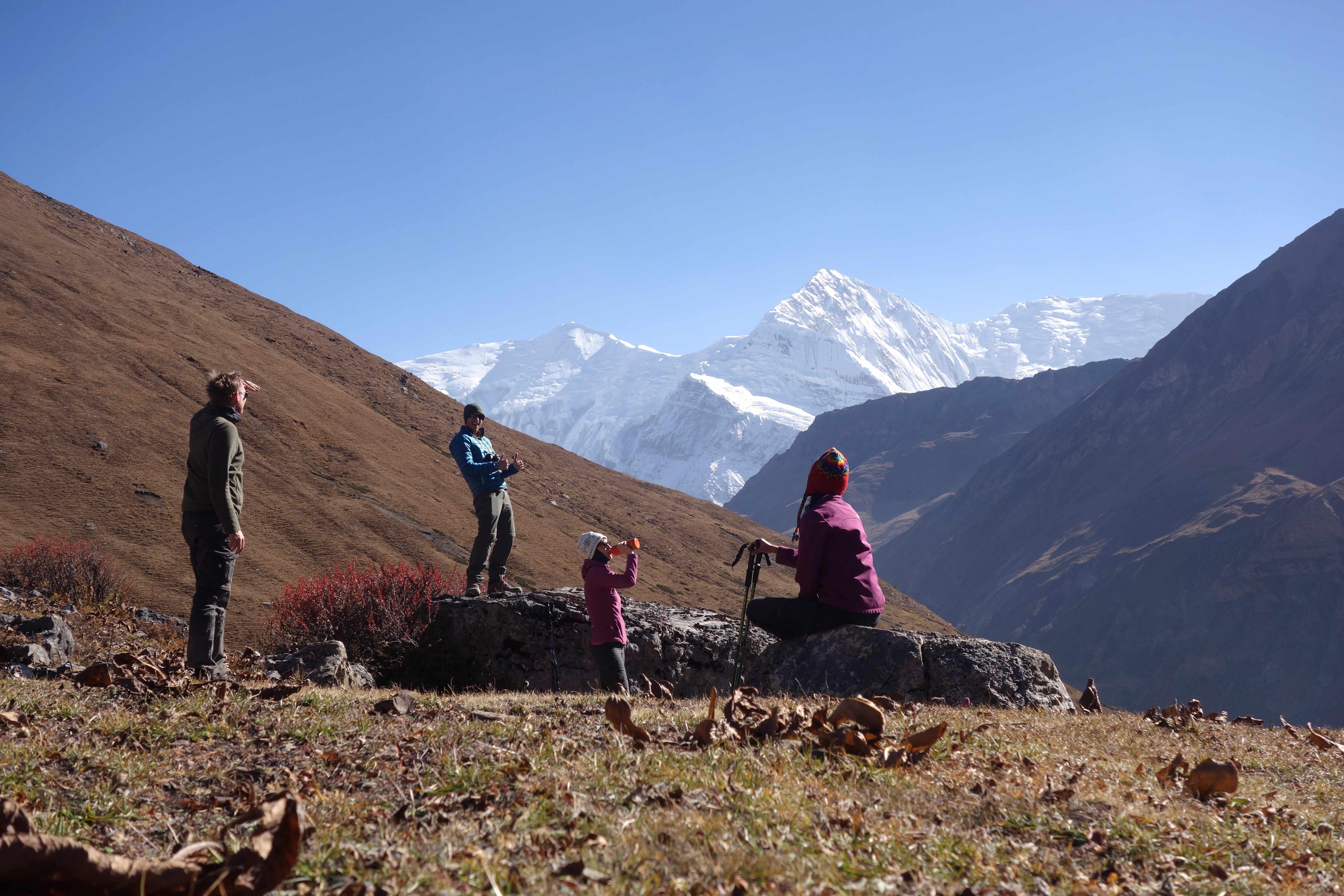 Nepal Annapurna Circuit Ledar Gruppe