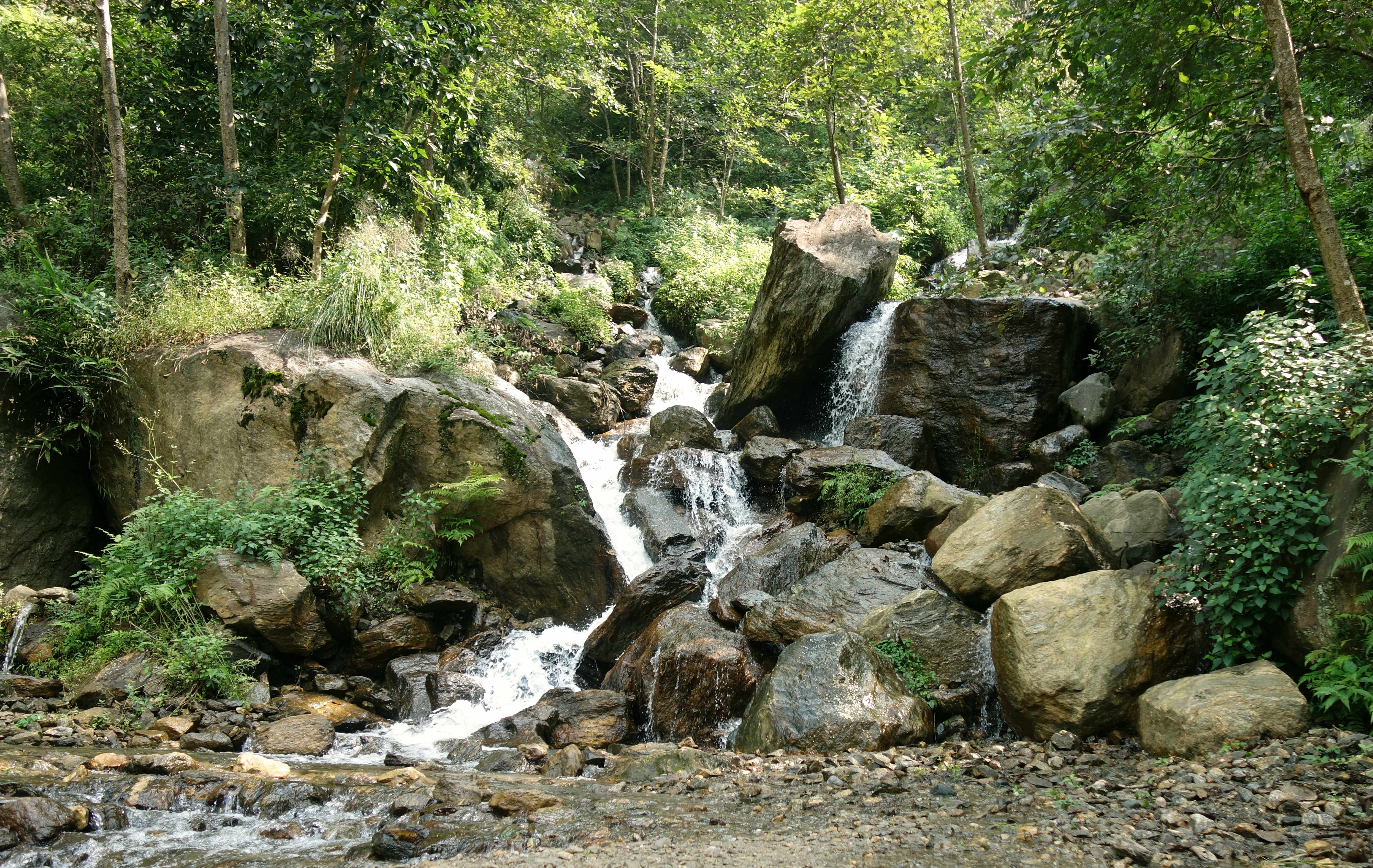 Nepal Annapurna Circuit Wasserfall