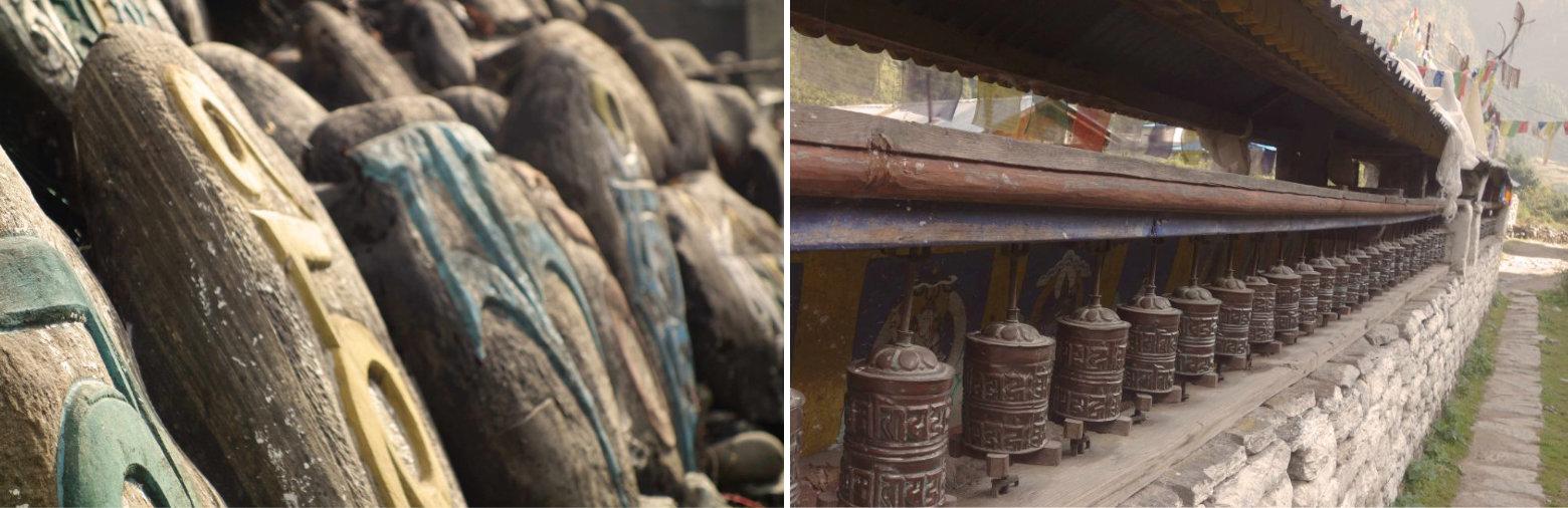 Nepal Annapurna Circuit Gebetsmühle