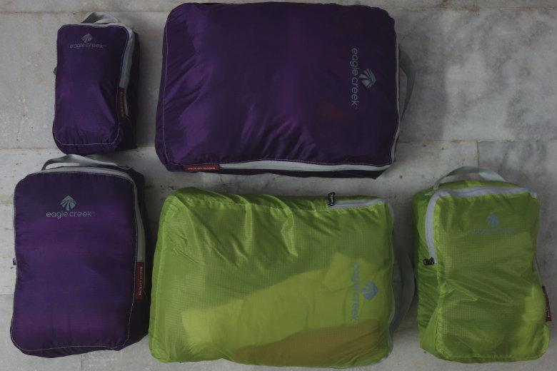 Weltreise Packliste Handgepäck Packing Cubes