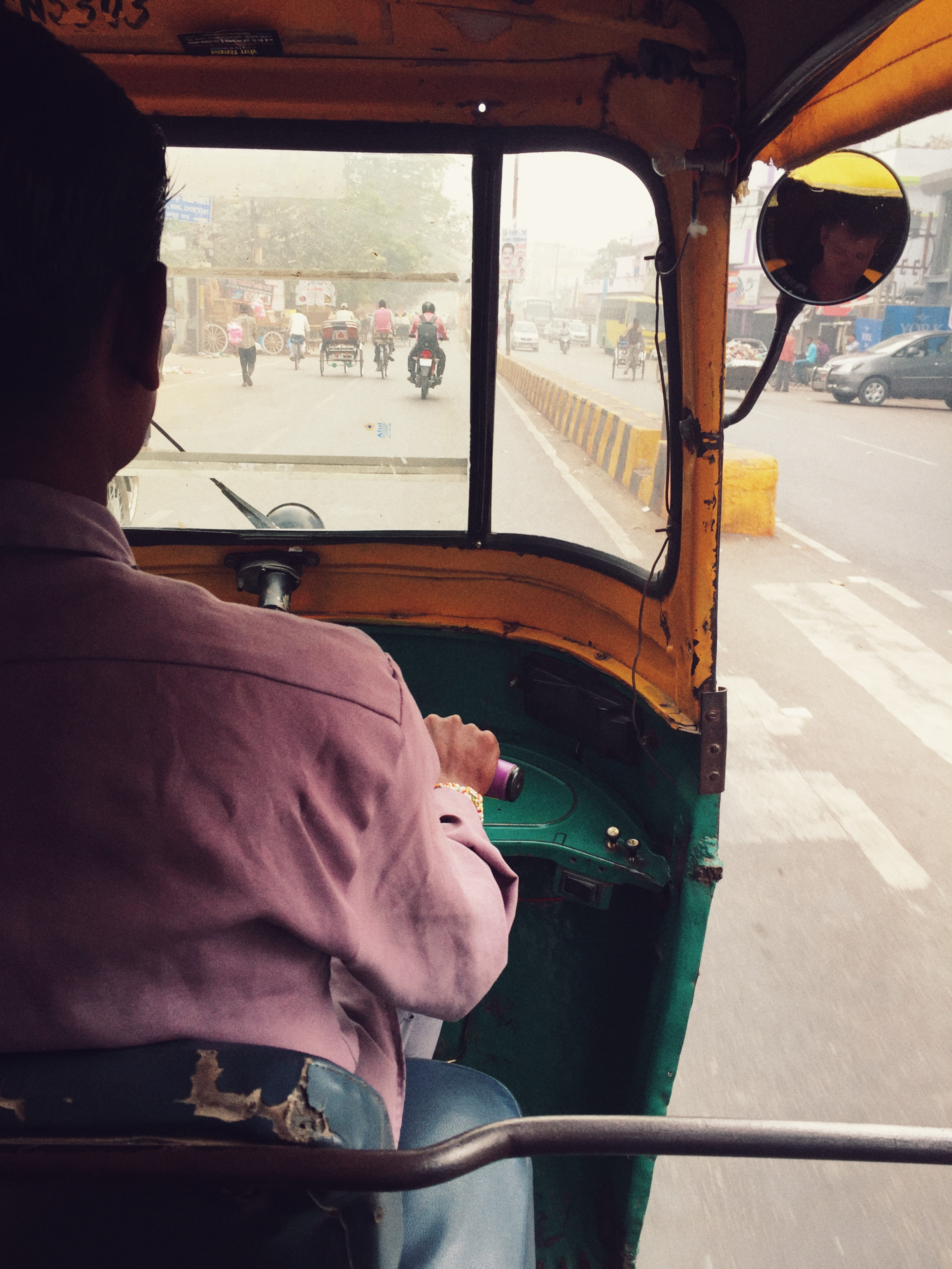 Indien Lakhnau Rikscha