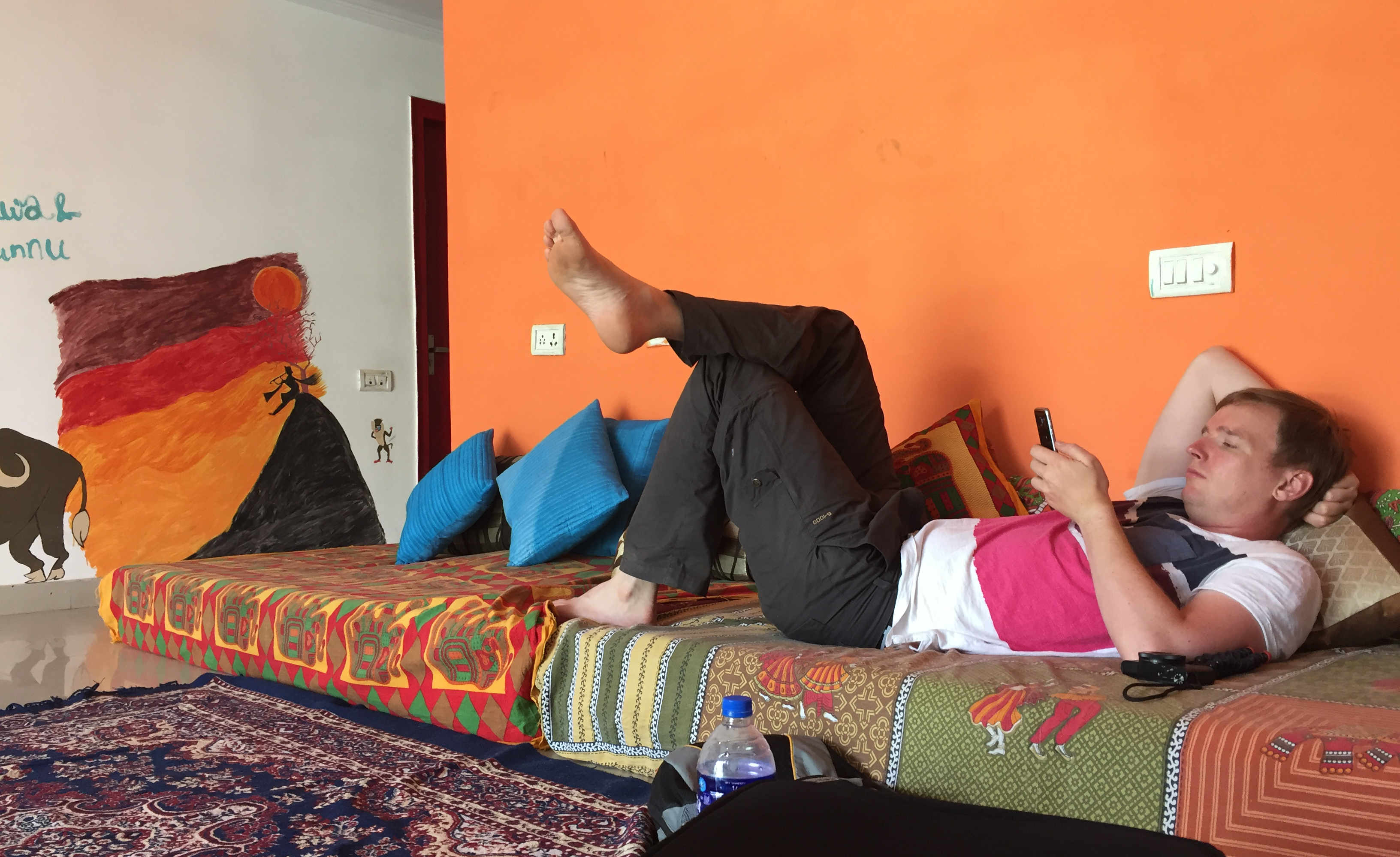 Indien Agra Hostel
