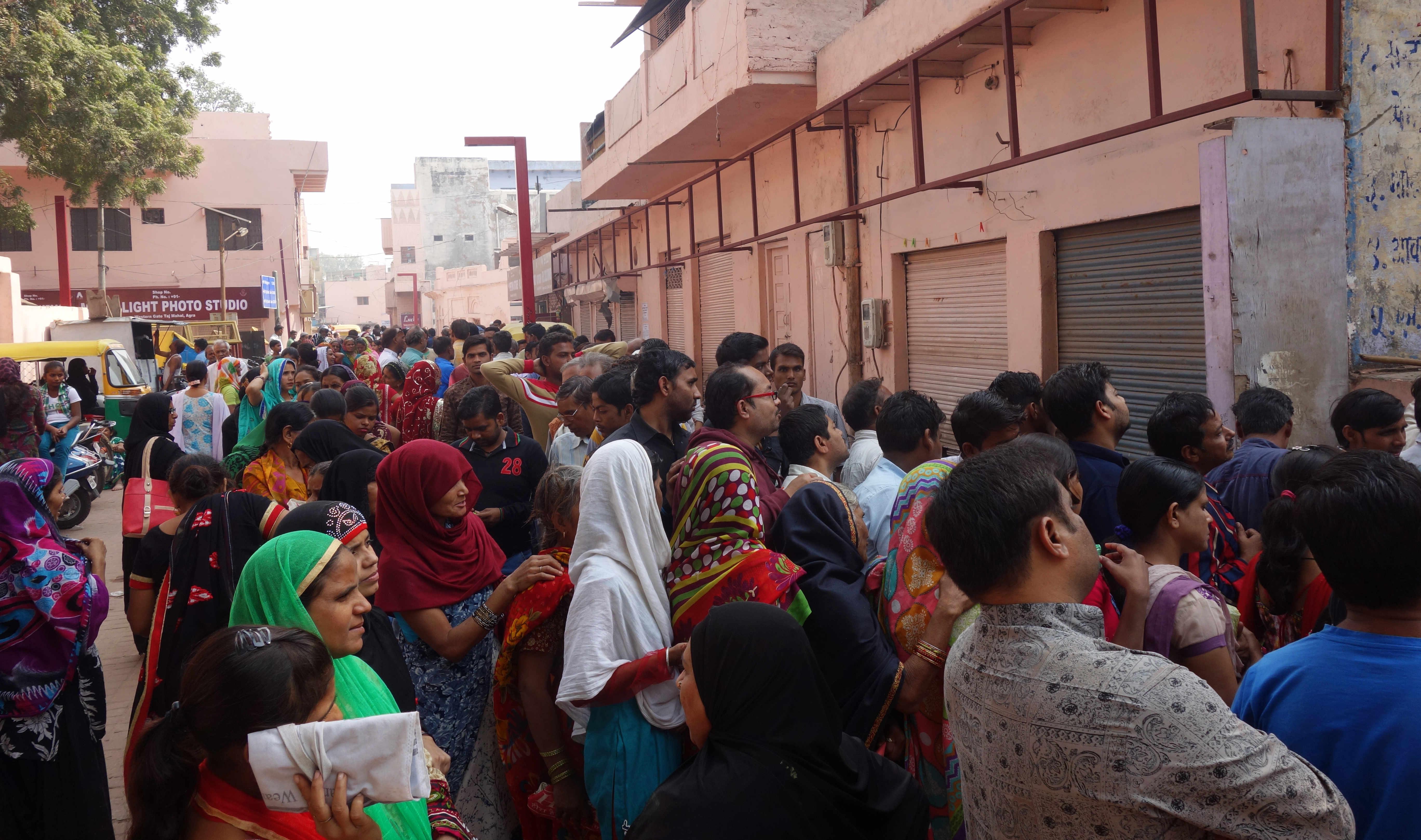 Indien Finanzkrise Anstehen