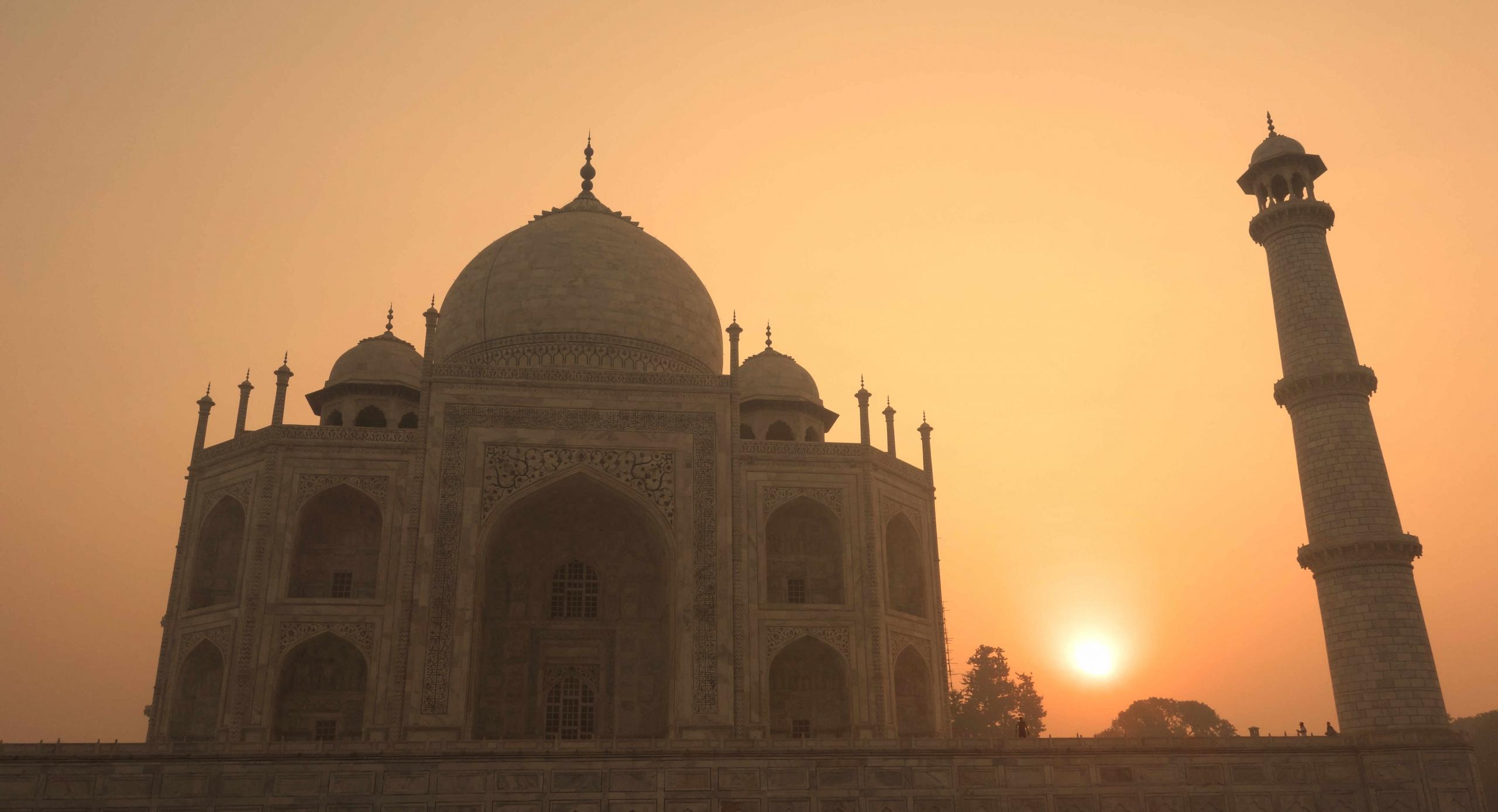 Agra Taj Mahal Sunrise