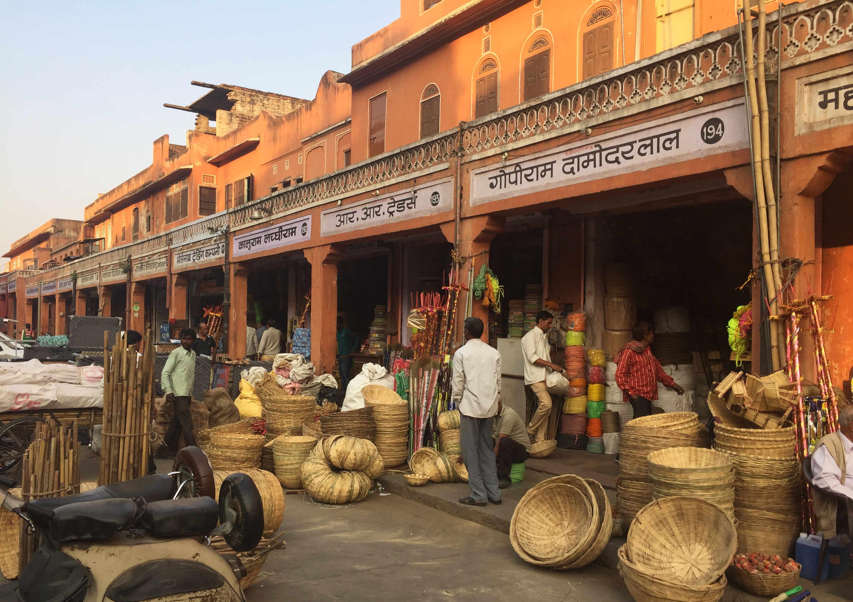 Indien Jaipur Basar