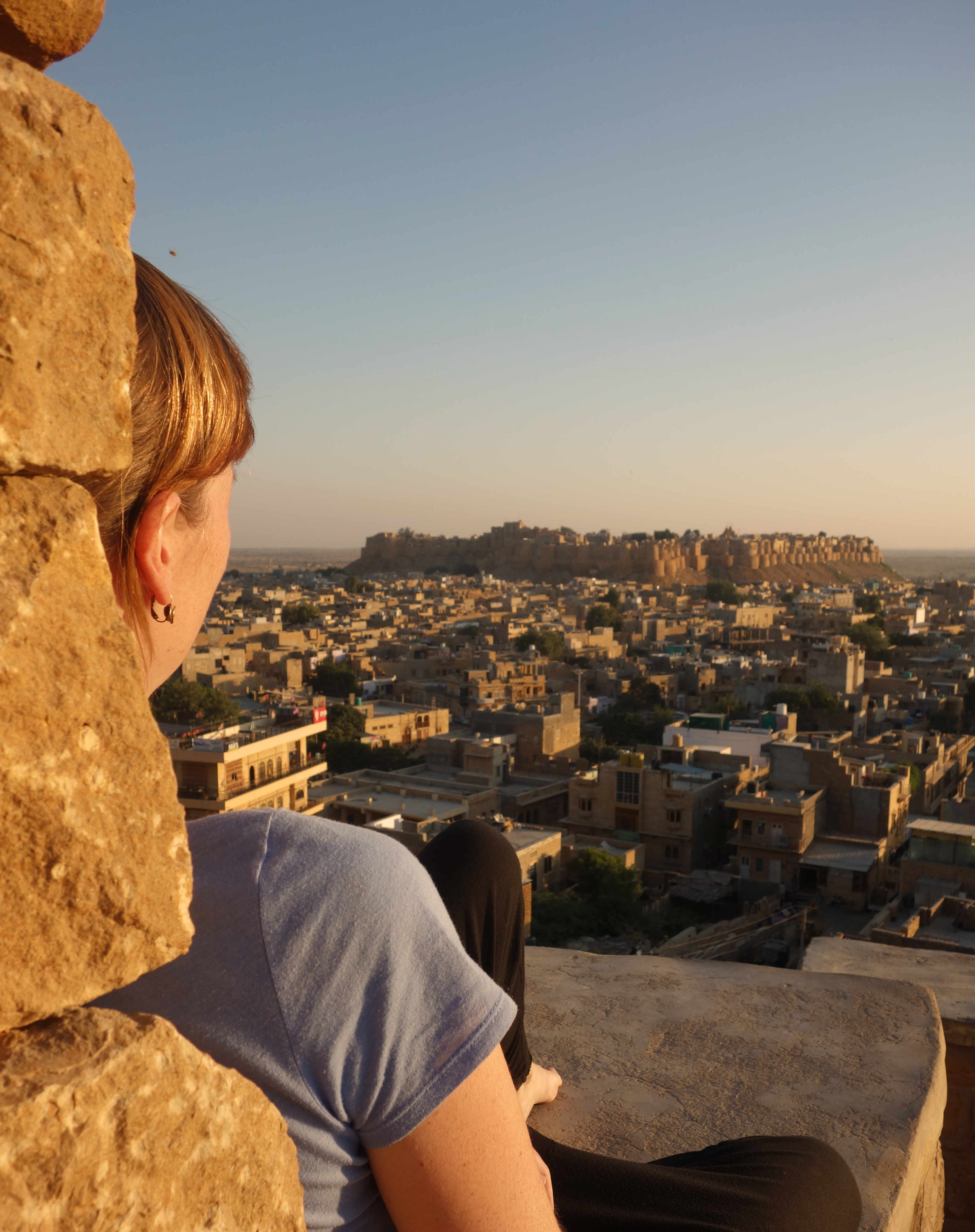 Indien Jaisalmer Fort Sonnenuntergang