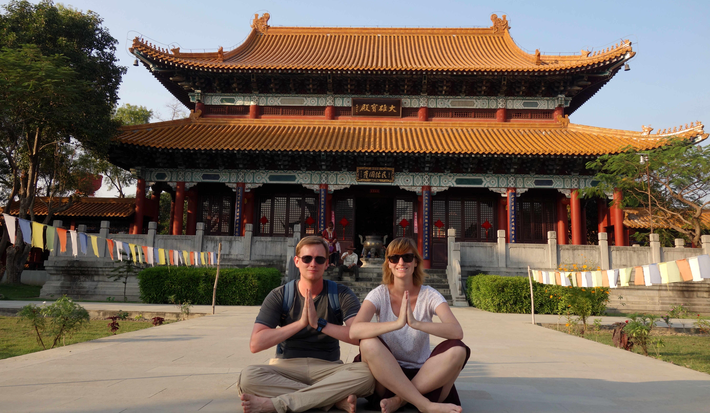 Nepal Lumbini chinesischer Tempel