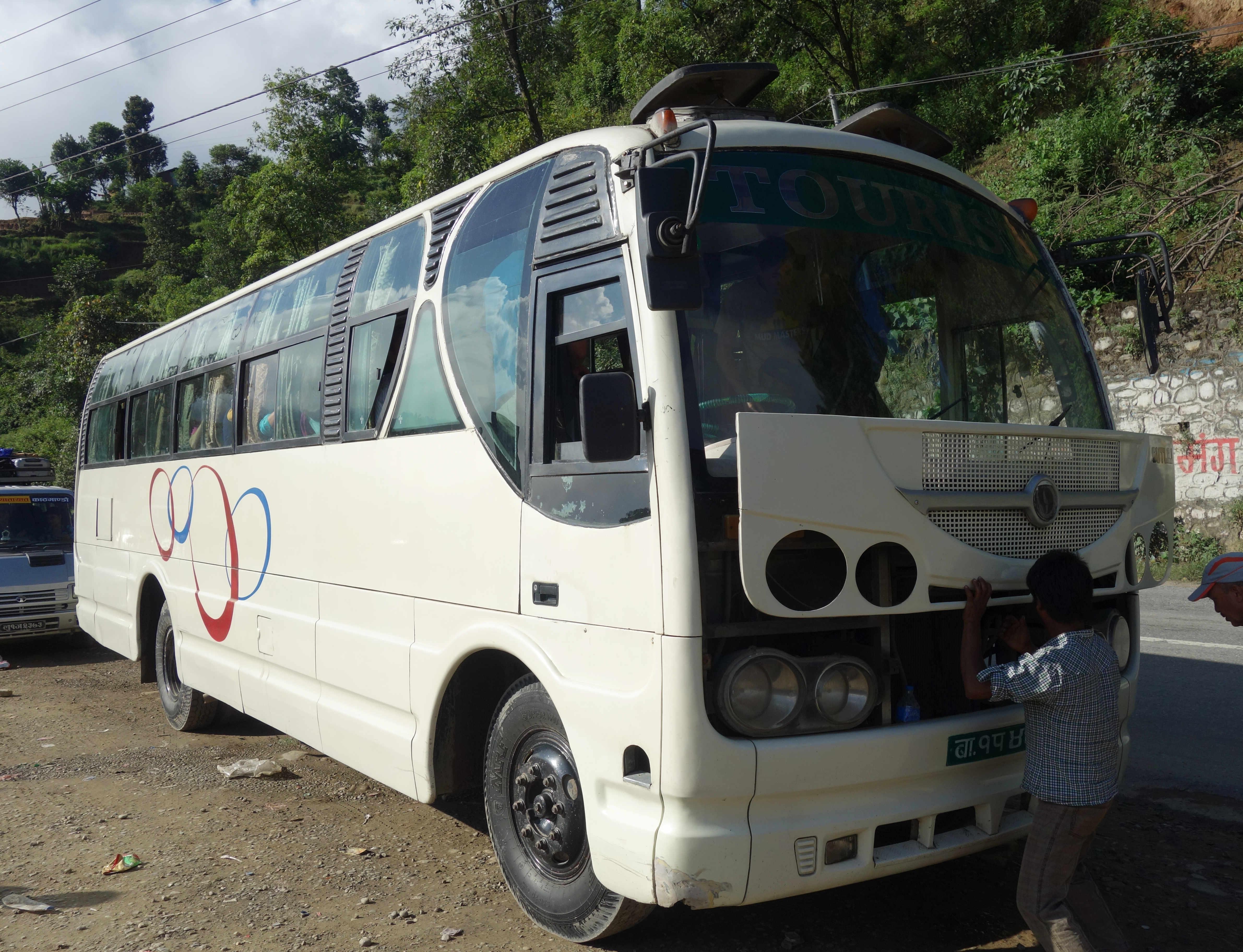 Nepal Reisetipps Touristenbus