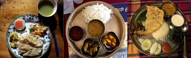 Nepal Reisetipps Essen Dal Hat