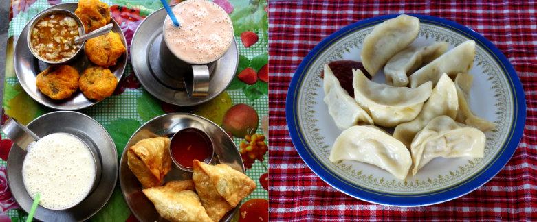 Nepal Reisetipps Essen Snacks
