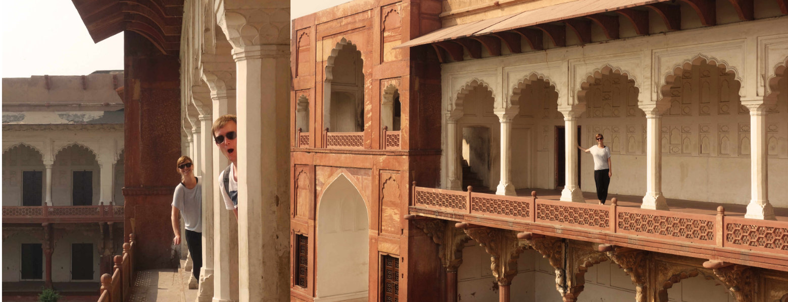 Indien Agra Fort