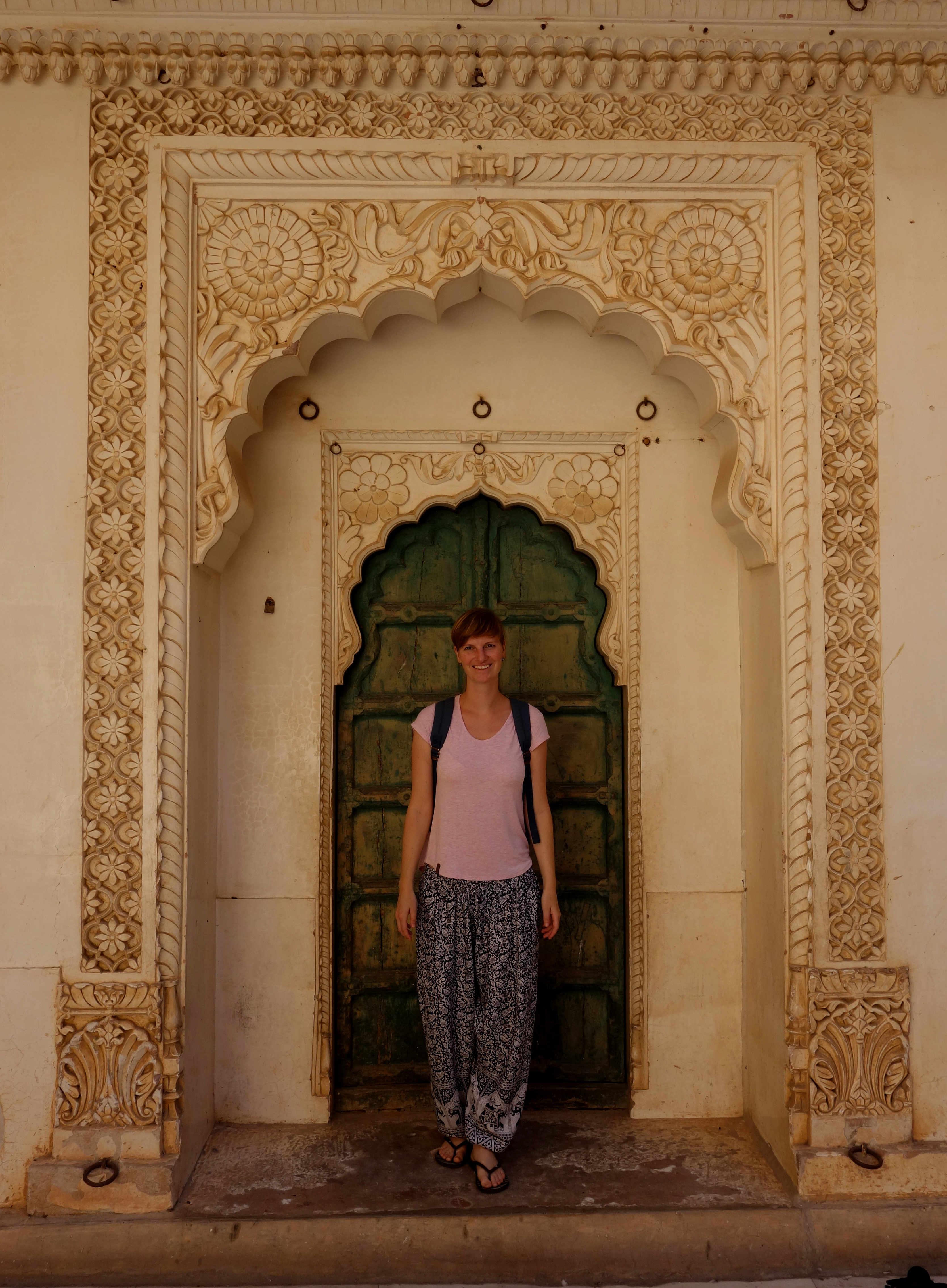 Indien Jodhpur Fort Franzi