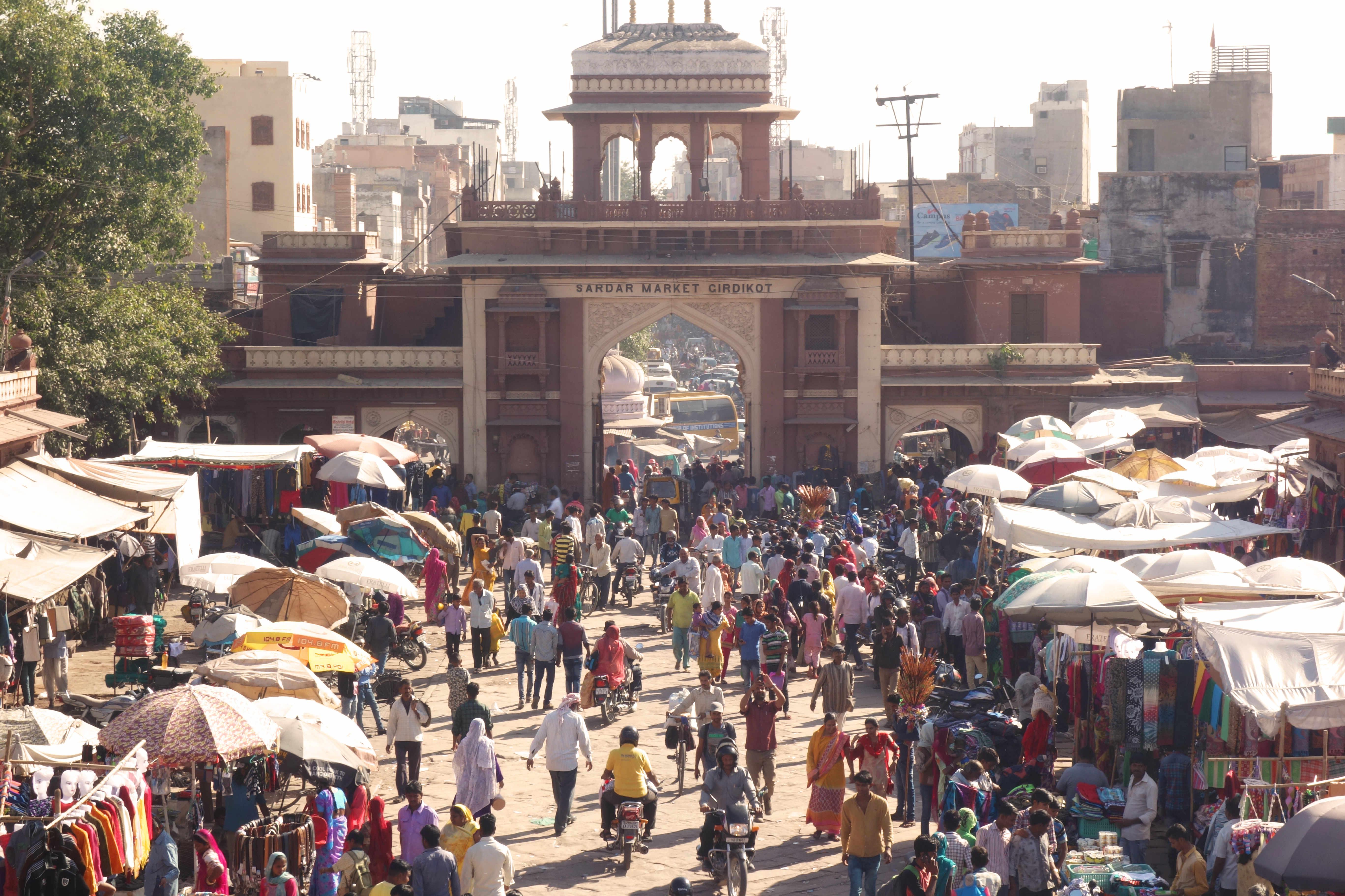 Indien Jodhpur Markt