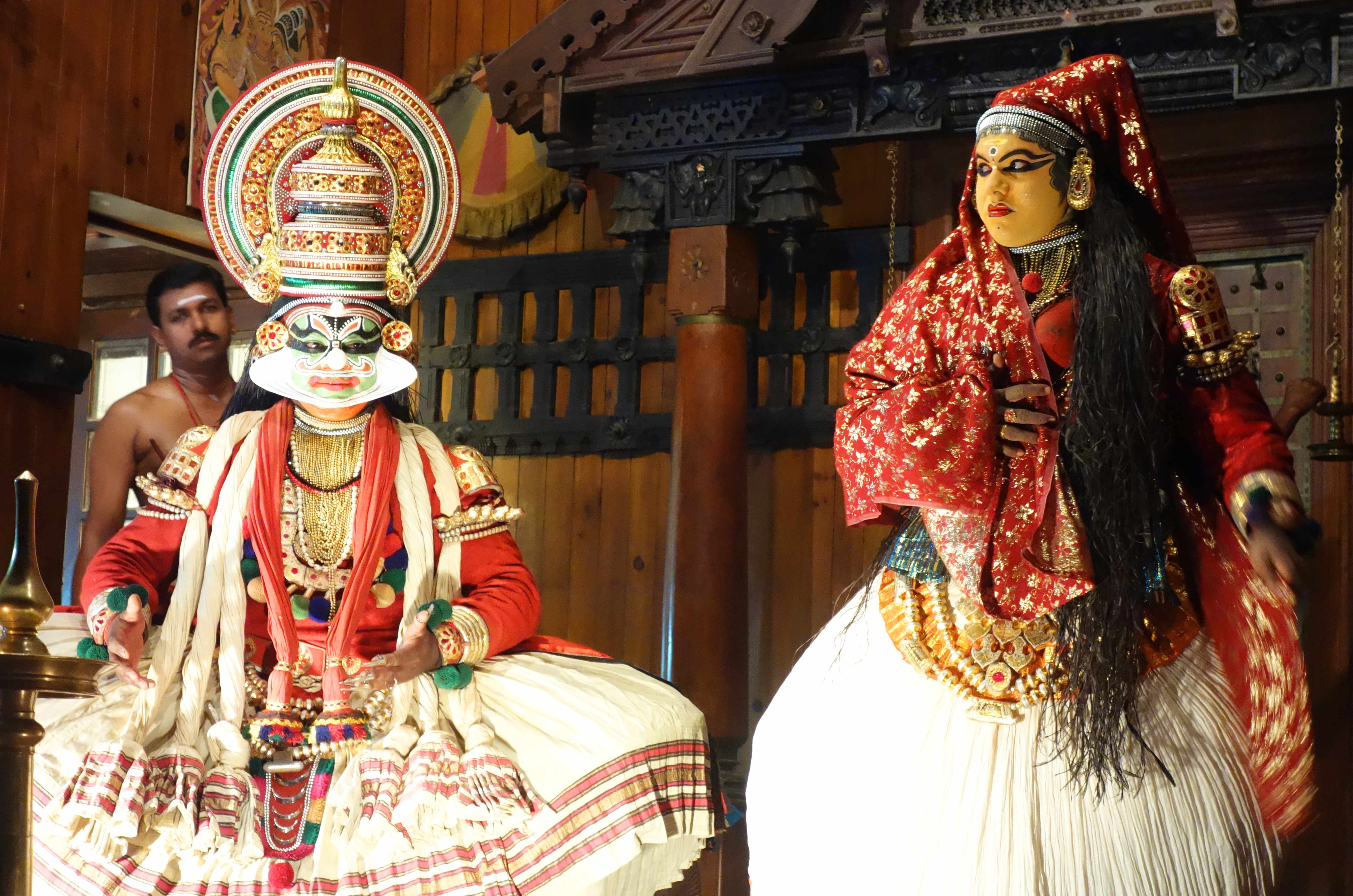 Indien Kochi Kathakali