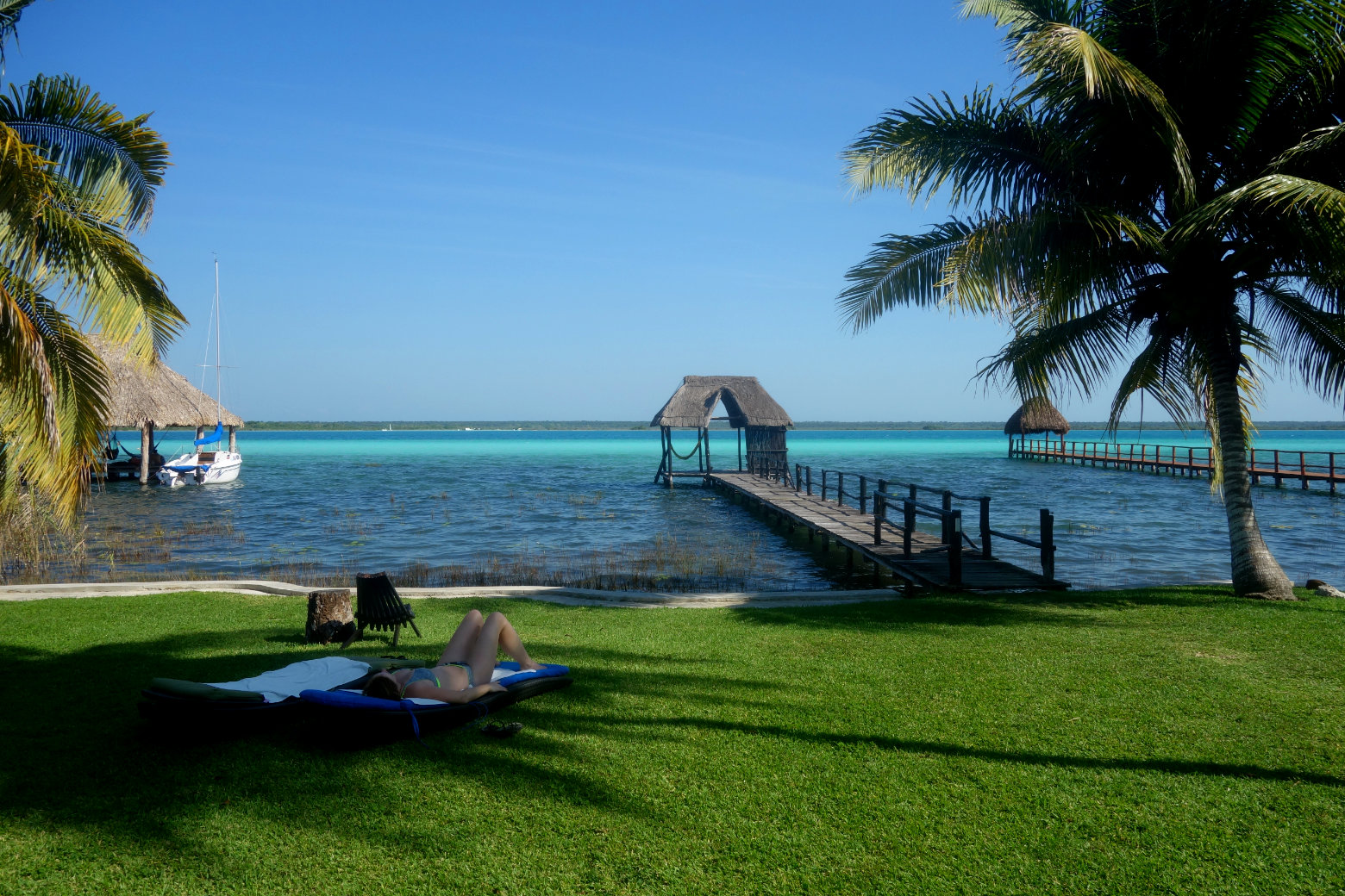 Mexiko Bacalar Lagune
