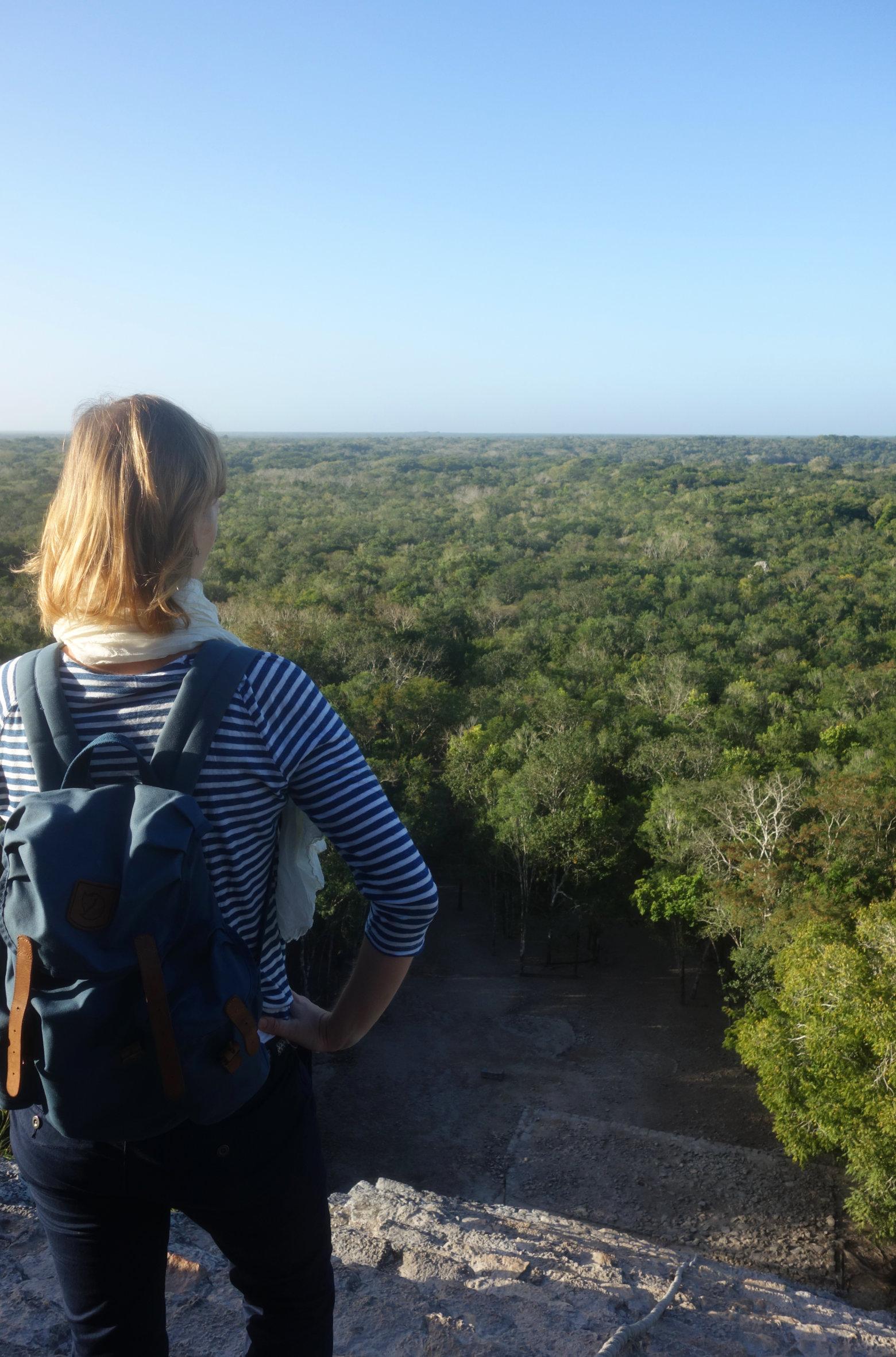 Mexiko Coba Pyramide und Dschungel