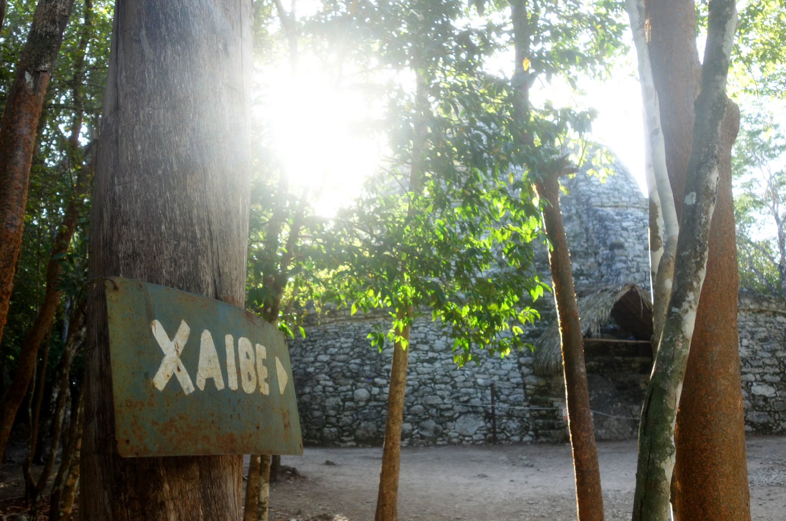 Mexiko Coba Ruine Xaibe