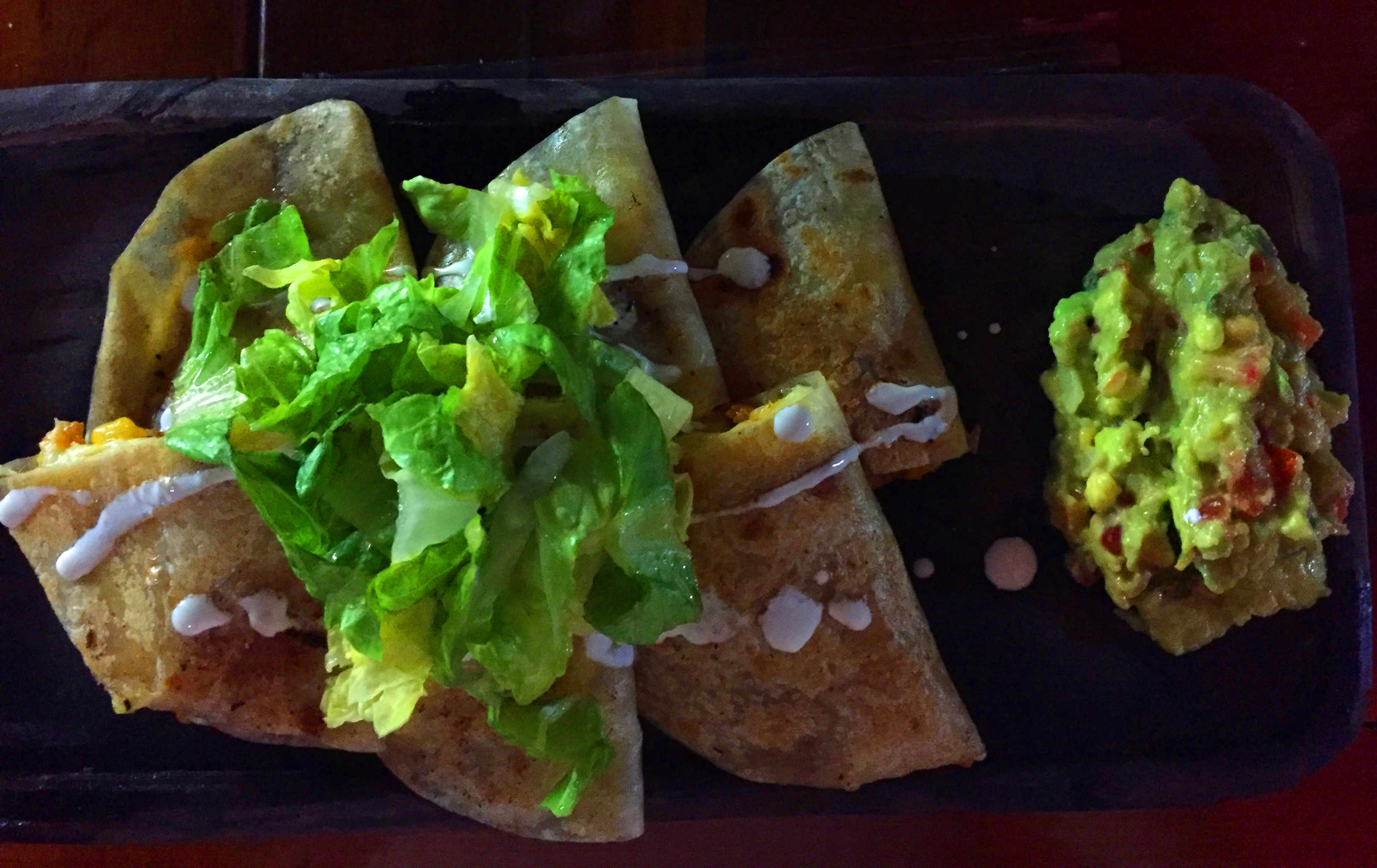 Mexiko Reisetipps Essen Quesadilla