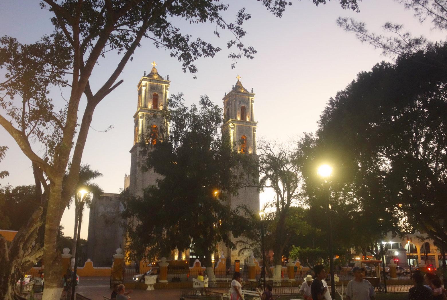 Mexiko Valladolid Zocalo