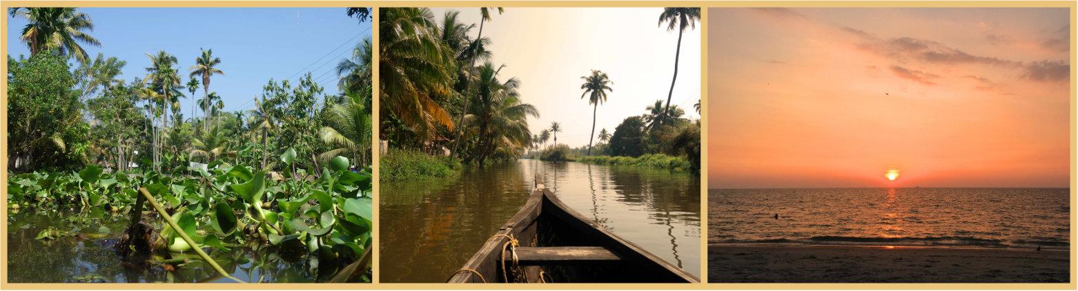 Indien Reisetipps Kerala Backwaters