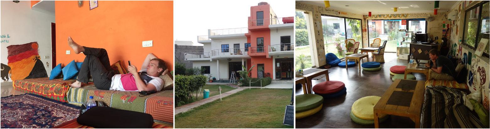 Indien Reisetipps Hostel Agra