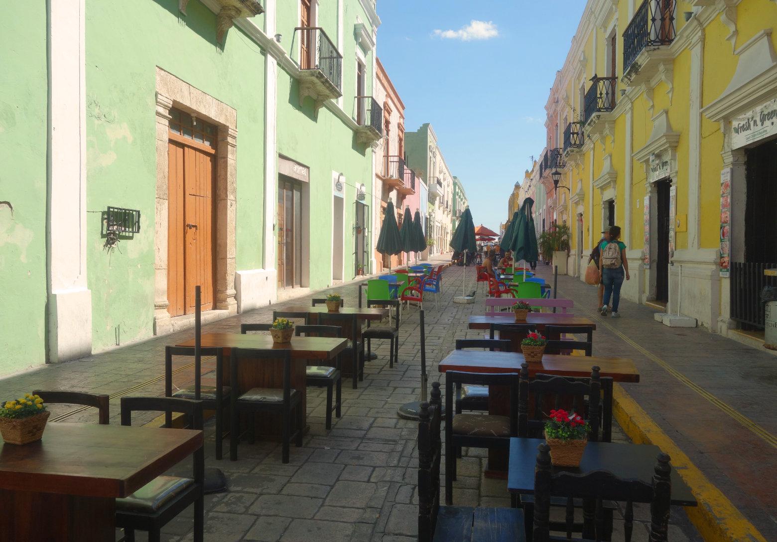 Mexiko Campeche Calle 59