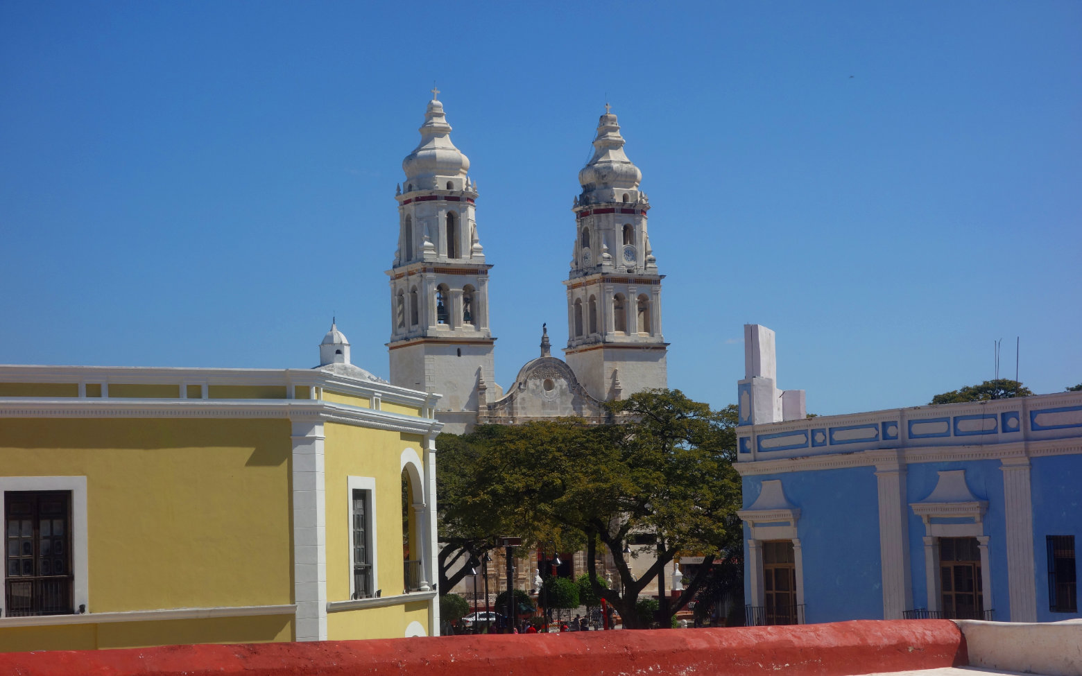 Mexiko Campeche Kathedrale