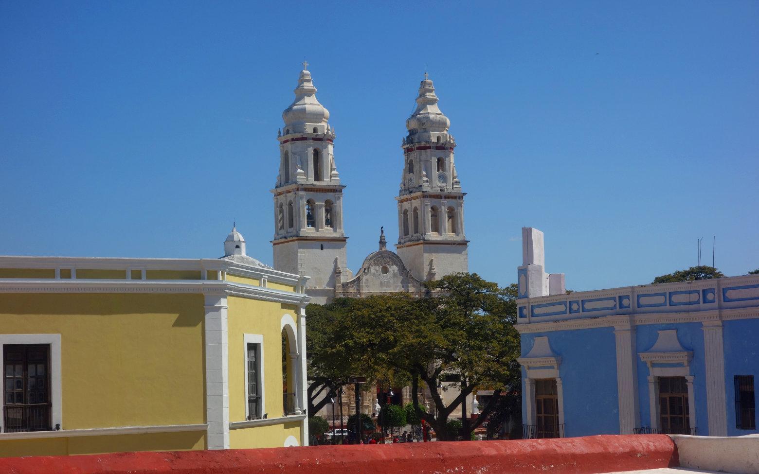 Mexiko Campeche Kathedrale