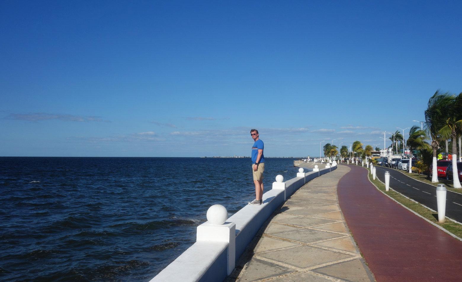 Mexiko Campeche Meer