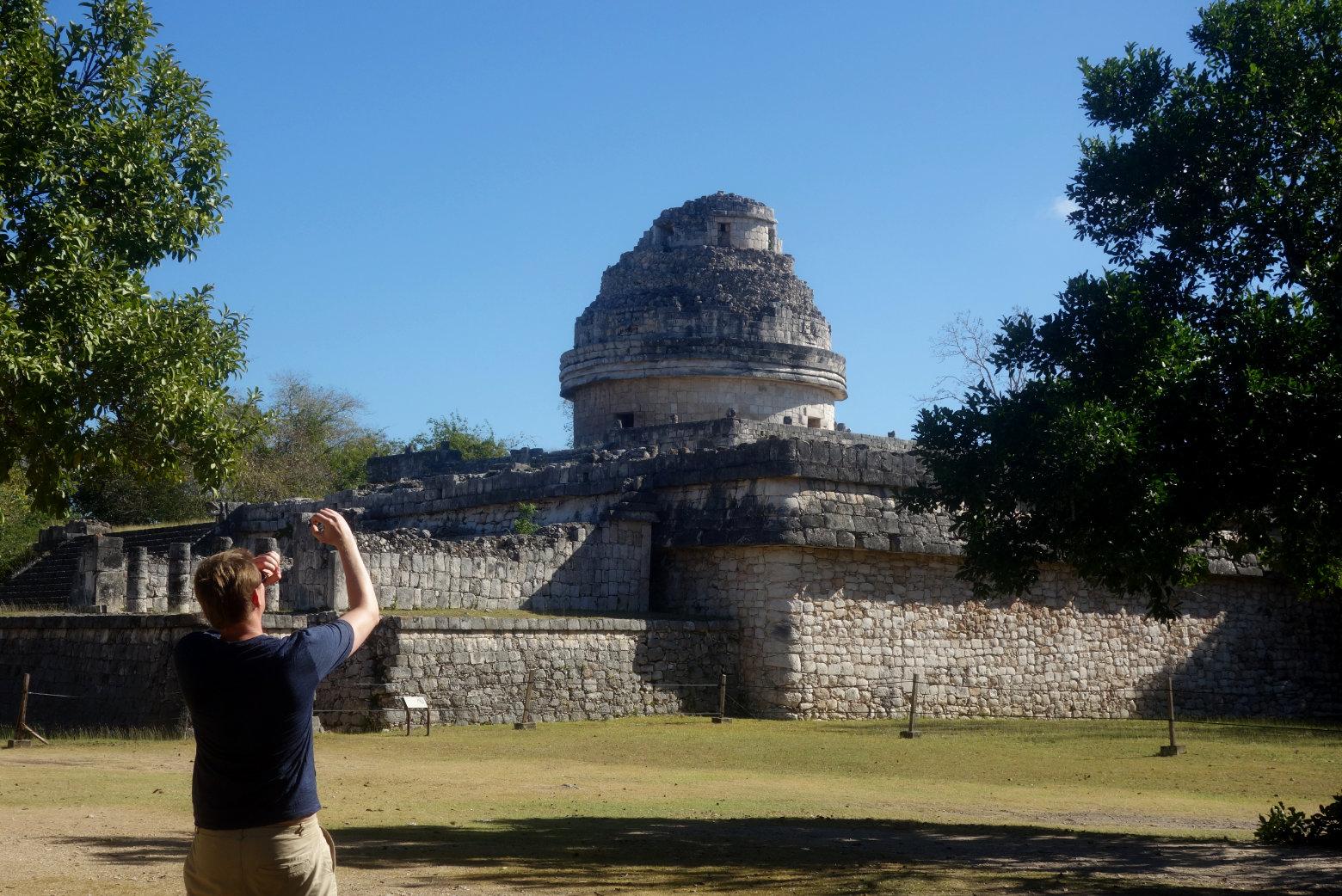 Mexiko Chichén Itzá El Caracol