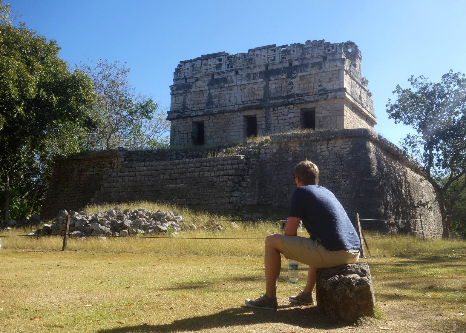 Mexiko Chichén Itzá Casa Colorada