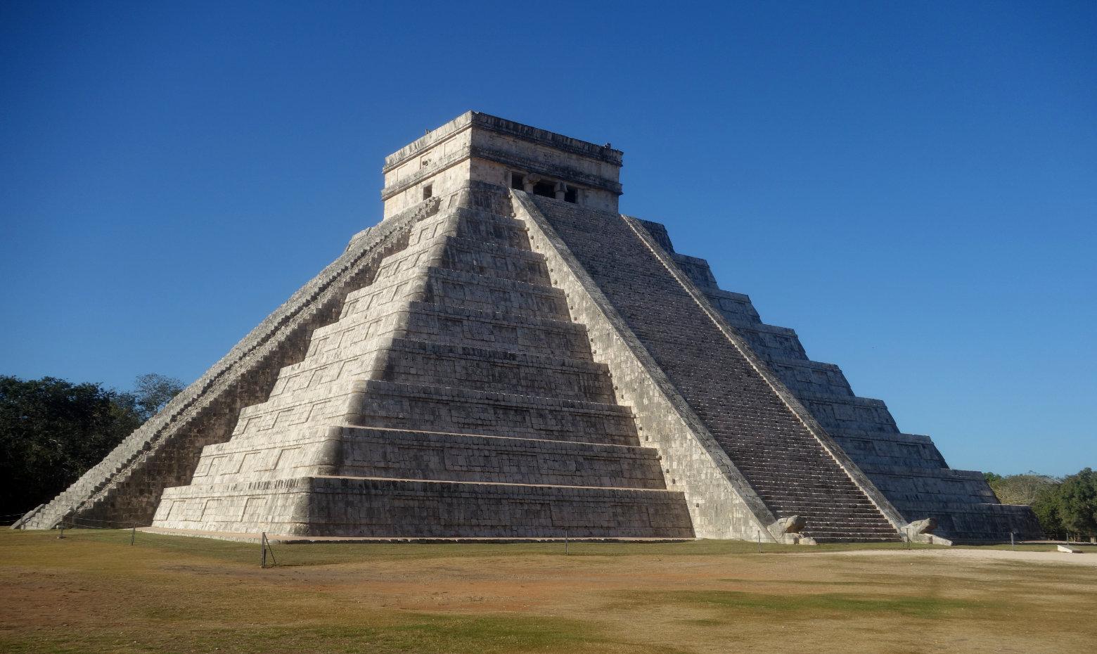 Mexiko Chichén Itzá Pyramide