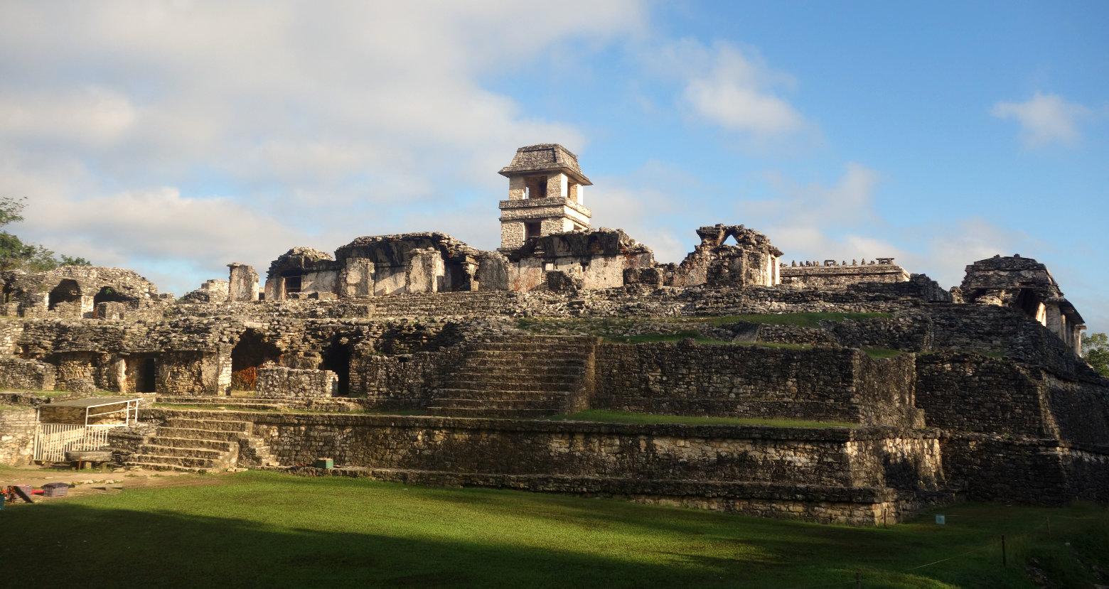 Mexiko Palenque El Palacio