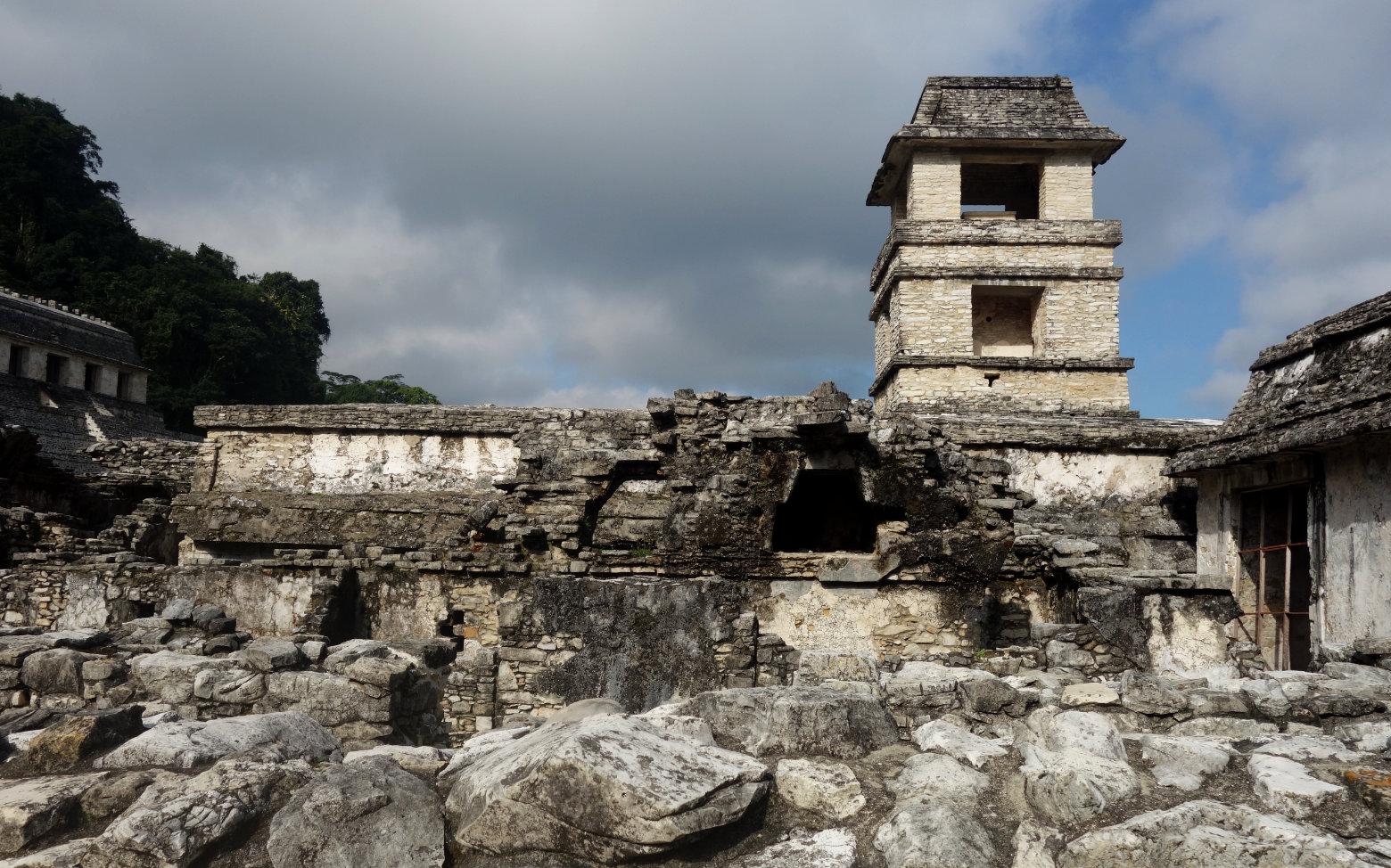 Mexiko Palenque El Palacio Turm