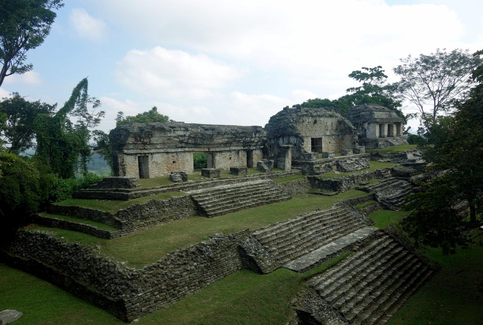 Mexiko Palenque El Grupo Norte