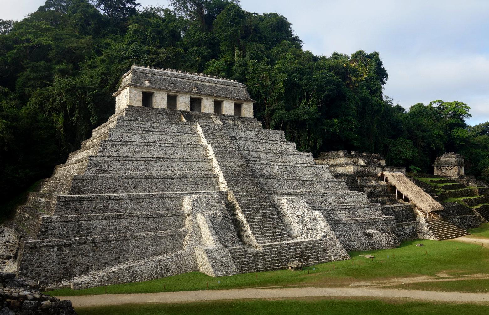 Mexiko Palenque Tempel der Inschriften