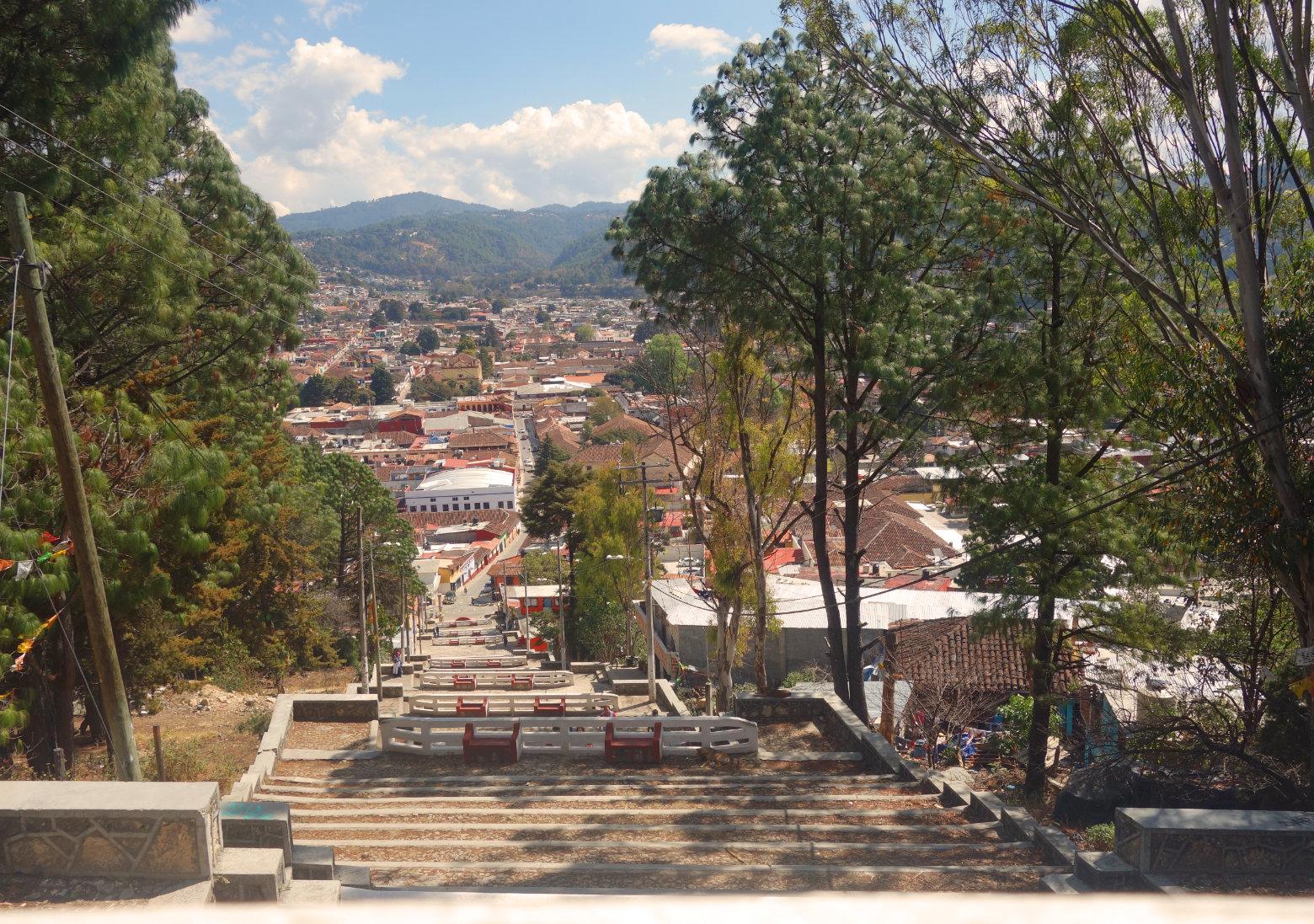 Mexiko San Cristobal Blick auf die Stadt