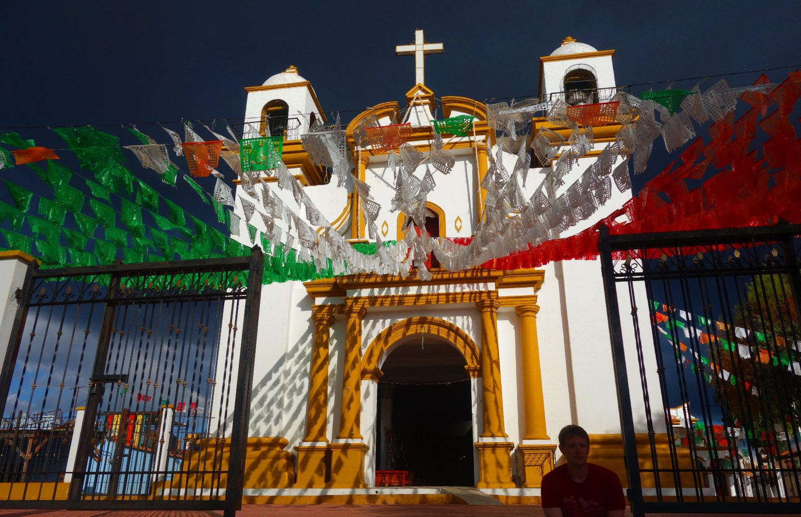 Mexiko San Cristobal Iglesia de Guadalupe
