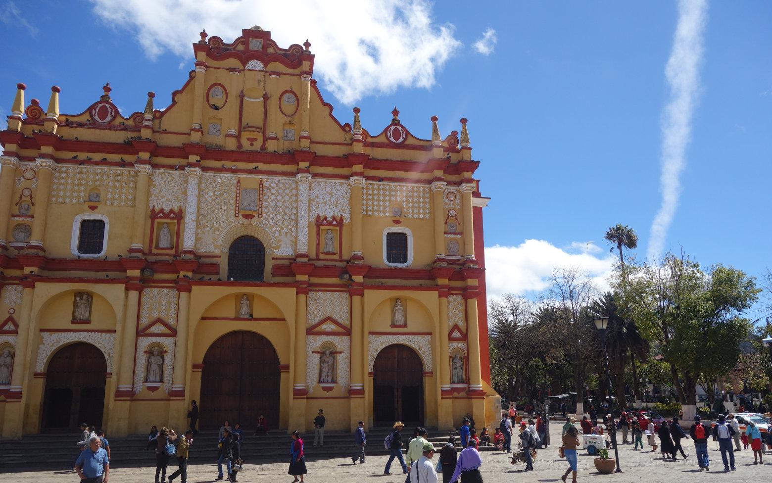 Mexiko San Cristobal Kathedrale