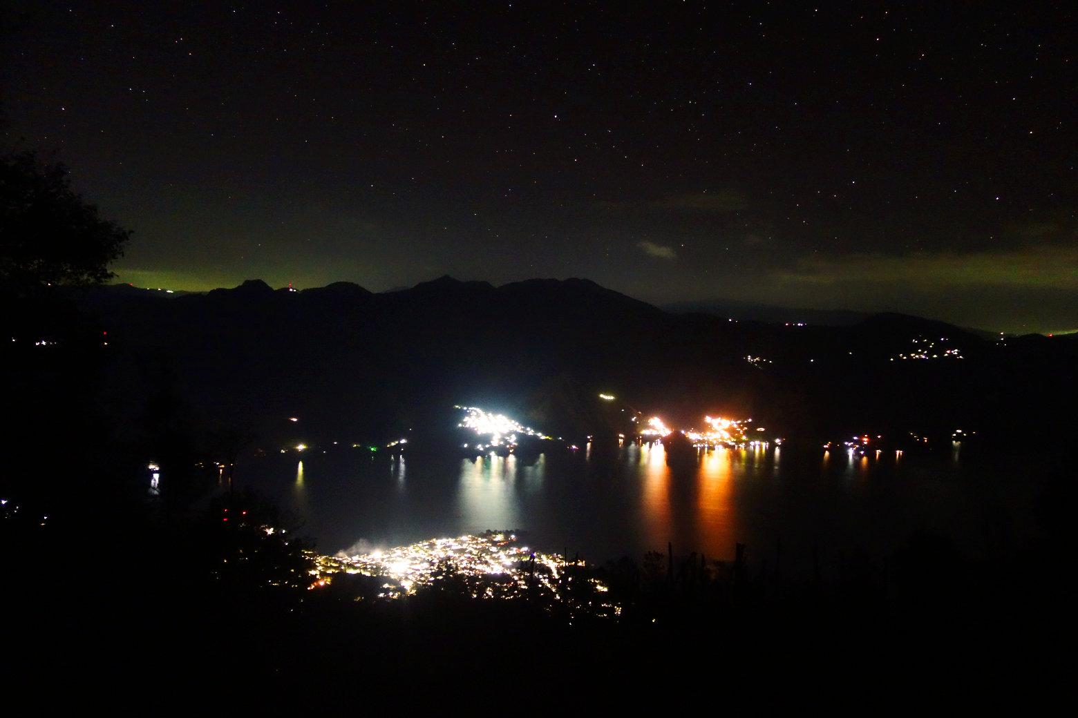 Guatemala Lago Atitlan San Pedro Nacht