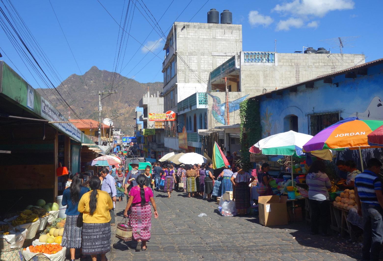 Guatemala Lago Atitlan San Pedro Markt