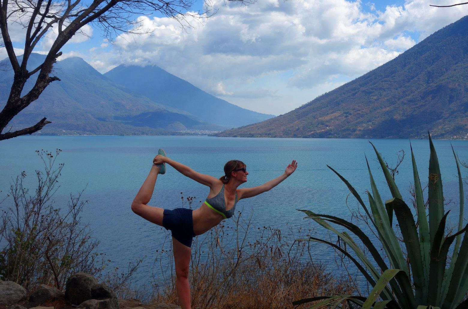 Guatemala Lago Atitlan San Pedro Yoga Pose